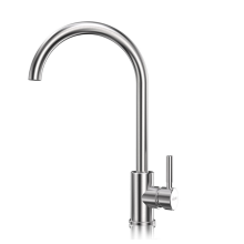 ​Best Quality faucet ceramic cartridge stainless steel taps water mixer kitchen faucet for sink