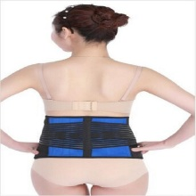 Lumbar back support brace magnetic waist belt