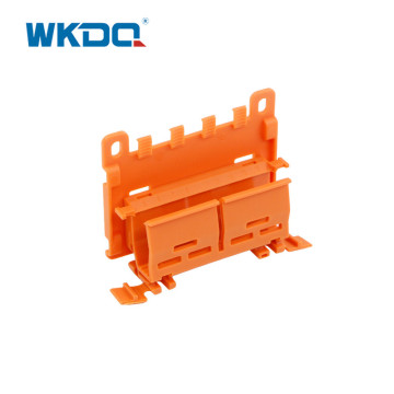 DIN Rail Push In Wire Connector Carrier