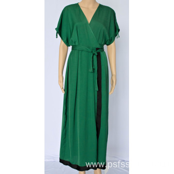 Women Temperament V-neck Dress