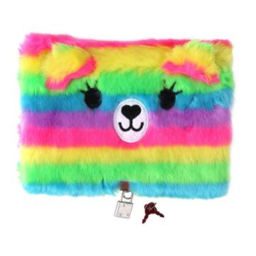 COLORFUL PLUSH SECRET DIARY-0