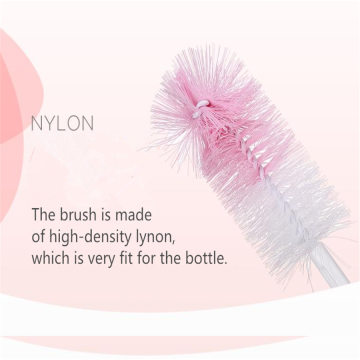 Nylon Cleaning Bottle Brush & Nipple Brush Set