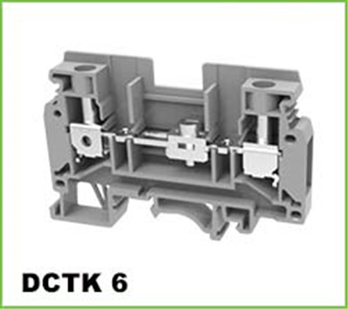 DIN Rail Industrial Distribution Electrical Test Block 6mm2