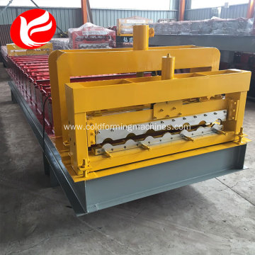 Roofing glazed tile  steel sheet making machine