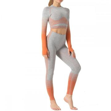 Active Yoga Seamless High Waist 2 Pcs