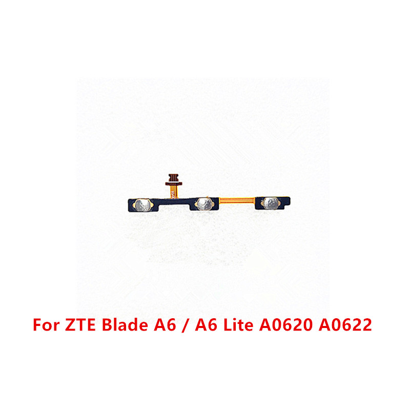 Volume up/down button and power on/ off button Switch Side flex cable FPC Replacement Parts For ZTE Blade A6/A6 Lite A0620 A0622