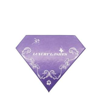 Polygonal Diamond Shape Magnetic Eyelash Box