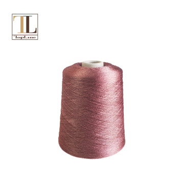 Topline extrafine merino wool lurex yarn for knitting