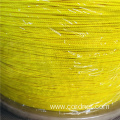Nylon Braid Twine 2mm with yellow color