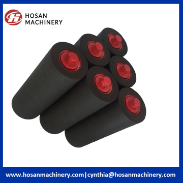 Wear Resistance Belt Flat Conveyor Rubber Coated Roller