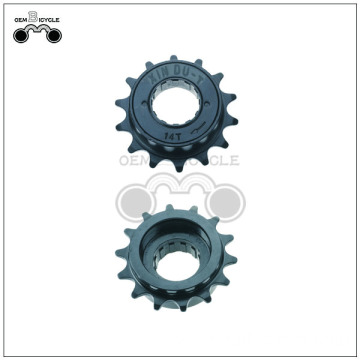 Black bicycle parts 14t freewheel for mtb