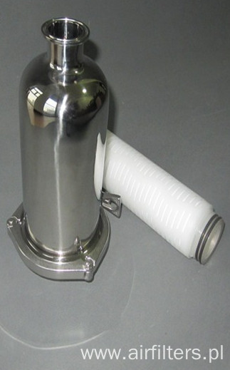 Security Water Filter With PP Filter Cartridges