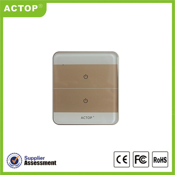 Zigbee control light touch glass switch