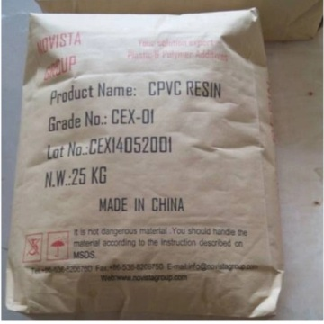 CPVC Resin Chlorinated Polyvinyl Chloride For Industrial