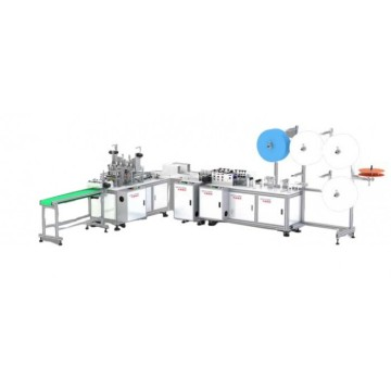Automatic Disposable Surgical Mask Making Machine With Servo