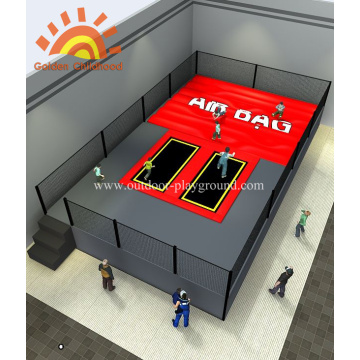 Airbag Themed Trampoline Park For Kids