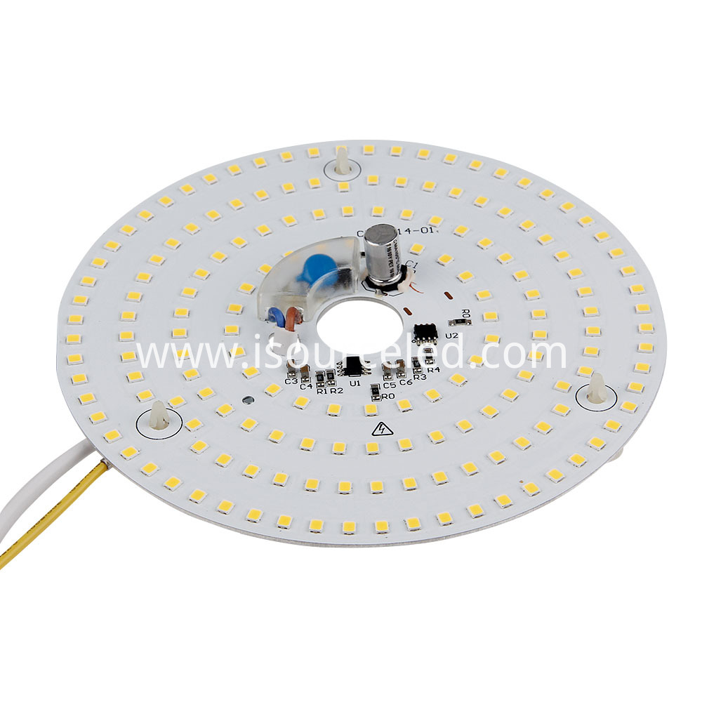 Dimming CCT 4325K Round 15W AC LED Module side of the ceiling light dimming module