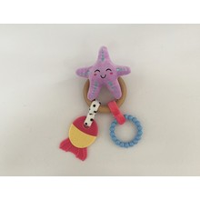 Starfish with Teether and Wood