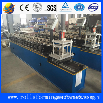 Automatic roll forming machine door