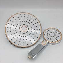 White Touch Control Plastic Hand Shower Head Sets