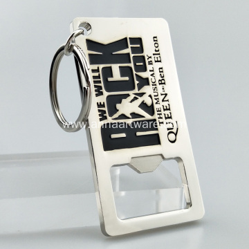 Personalized Sublimation Blank Keychain Bottle Opener