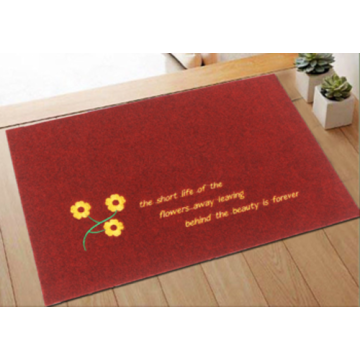 brown office door mat pvc backed carpet