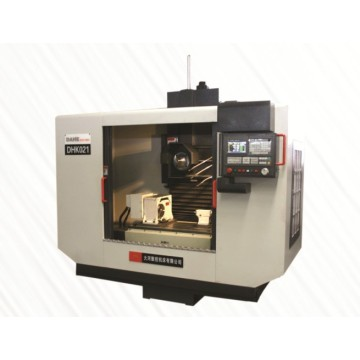 DHK021 CNC rotor groove grinder.