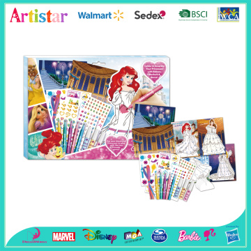 DISNEY PRINCESS attractive art set