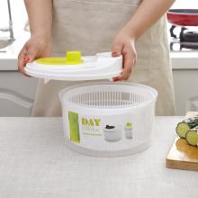 Salad Spinner Lettuce Greens Washer Dryer Drain Crisper Strainer For Washing Drying Leafy Vegetables Kitchen Accessories