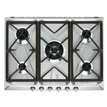 Smeg Stove Top Stainless 75cm