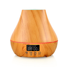 Aroma Diffuser With Alarm Clock Design