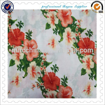 100% Rayon Printed Fabric for fashion design