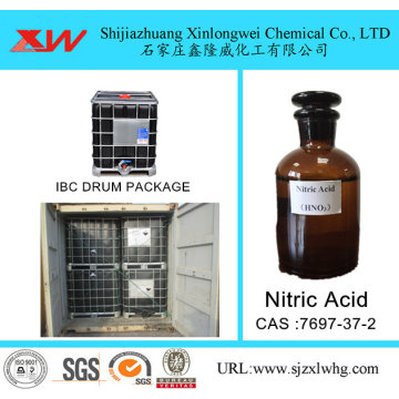 Nitric Acid in tote drum