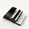 Luxury thick black foil edge business card printed