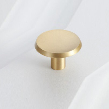 Gold Round Kitchen Cabinet Knobs