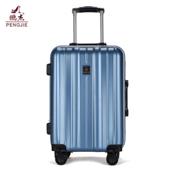High quality double wheel hard travel luggage