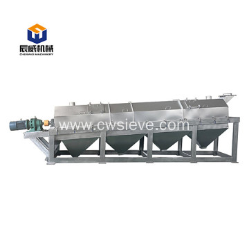 Mobile trommel sieve shaker for garbage disposal