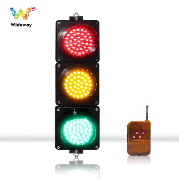 red yellow green remote control led traffic light