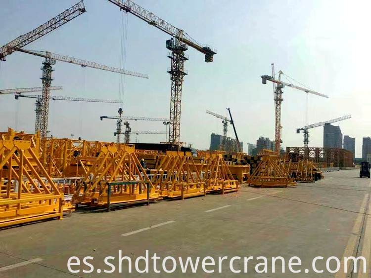 Installation of Topless Tower Crane