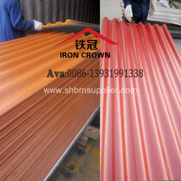 High Strength Anti-Freeze Insulating MgO Roofing Sheets