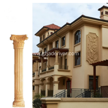 Original Stone Field Carved Stone Roman Column