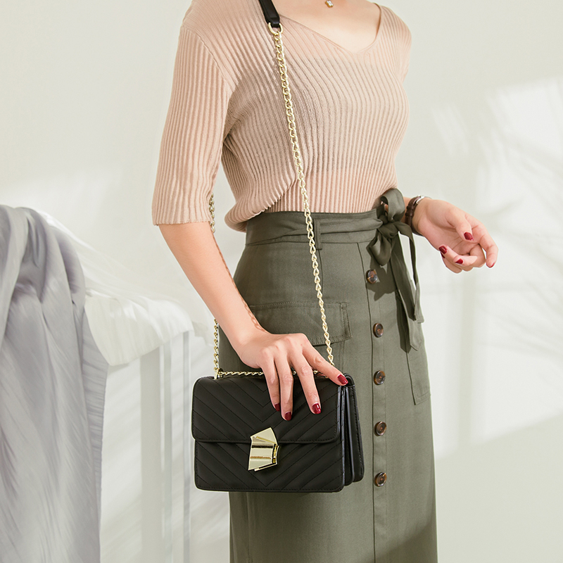 sling bag for women black