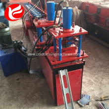 Zinc steel shutter dooring steel roll forming machine