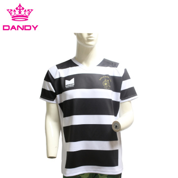 Durable Fashionable Customized Cotton Rugby Shirt