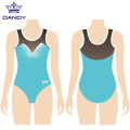 Girls comp sleeveless leotards