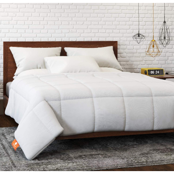 hypoallergenic goose down alternative quilted comforter