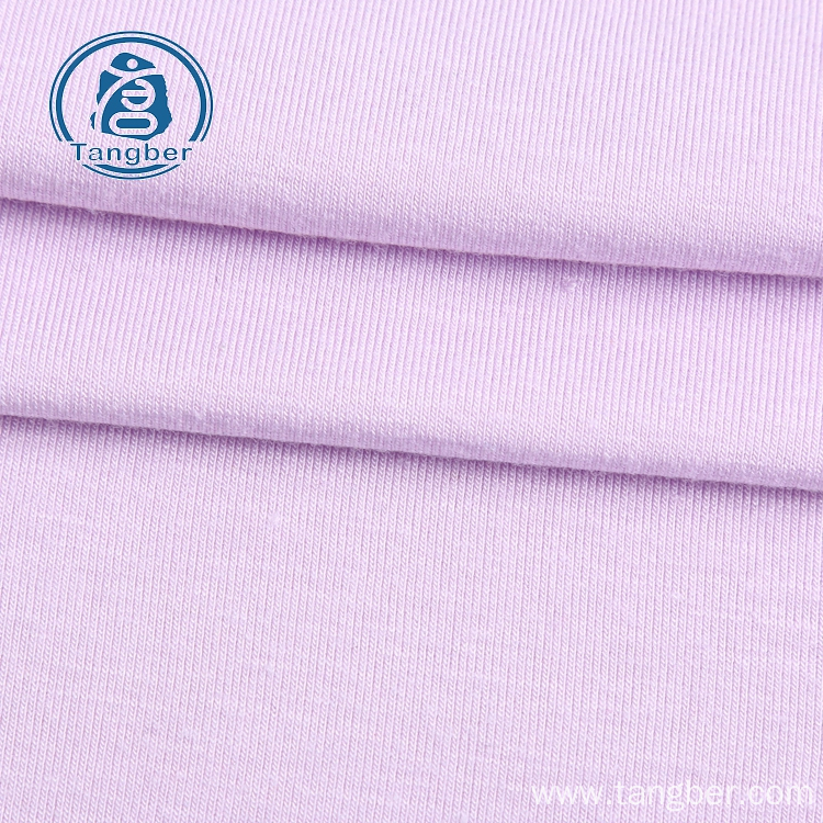 Viscose spandex blend jersey knit fabric