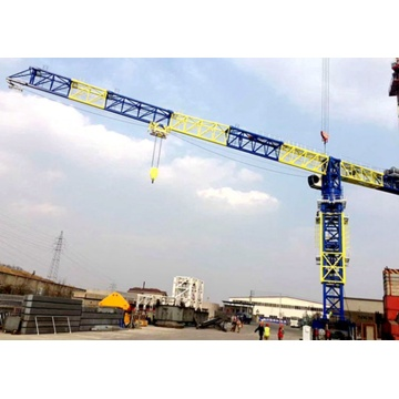 Safe fixed QTZ80-6012-6T tower crane