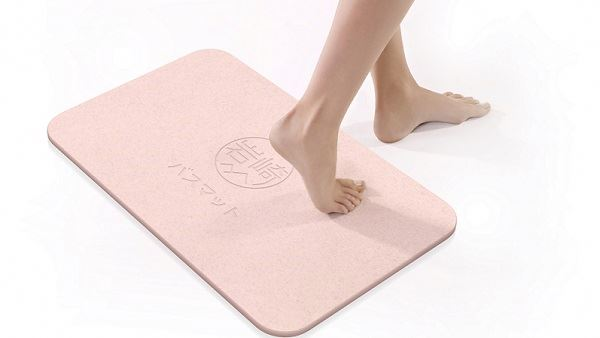 2018 Japanese design diatomaceous earth diatomite mat