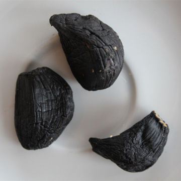 Nutrient rich peeled black garlic